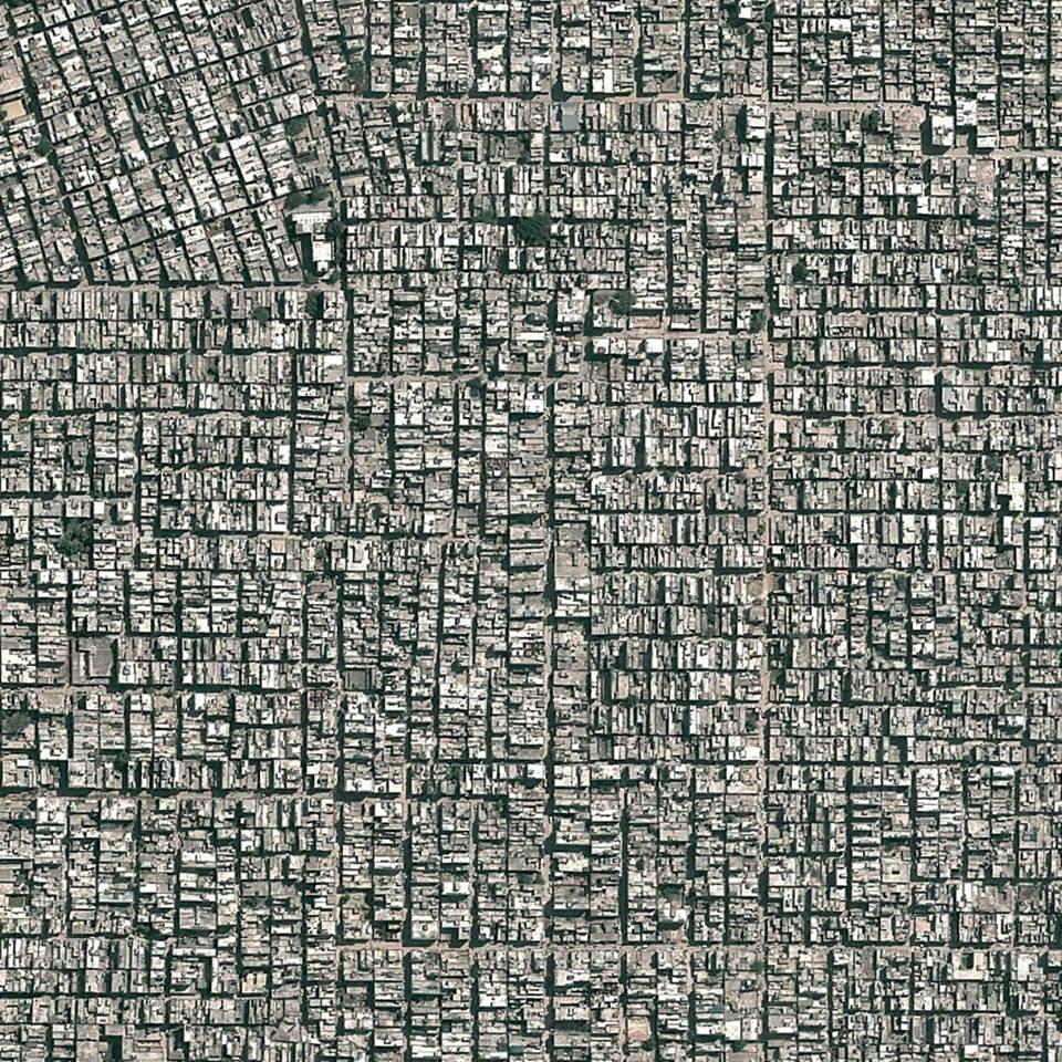 Slums, India